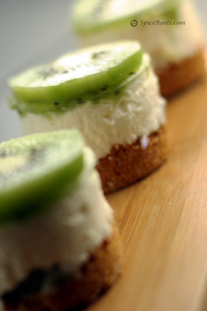 Cheesecake cu kiwi